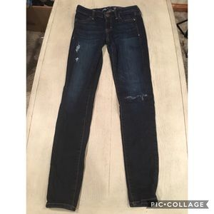AEO Stretch  Jeans dark wash jegging size 2